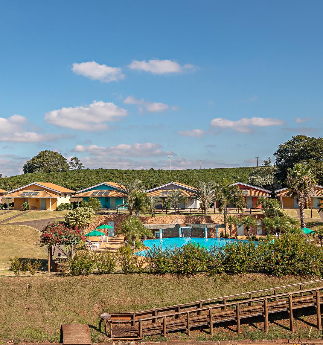 Hotel Fazenda Roseira - Acomodações