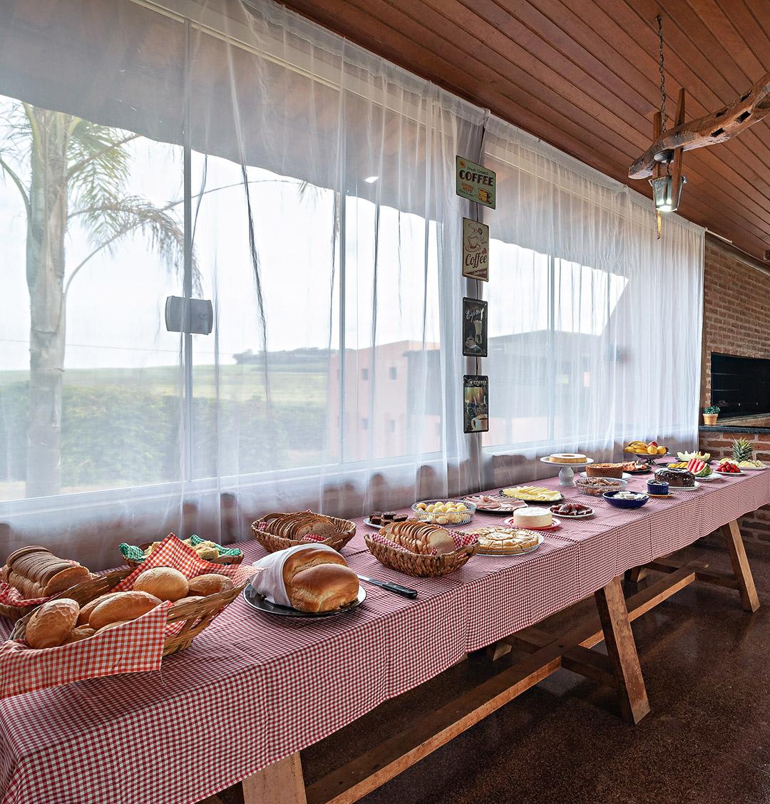 Hotel Fazenda Roseira - Restaurante